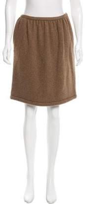 Ralph Lauren Purple Label A-Line Wool Skirt w/ Tags
