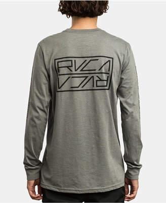 RVCA Men Reflector Logo Graphic T-Shirt