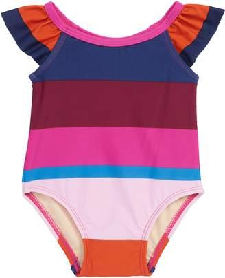 Tea Collection Cabana Stripe One-Piece Swimsuit