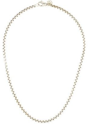 David Yurman Box Chain Necklace $245 thestylecure.com
