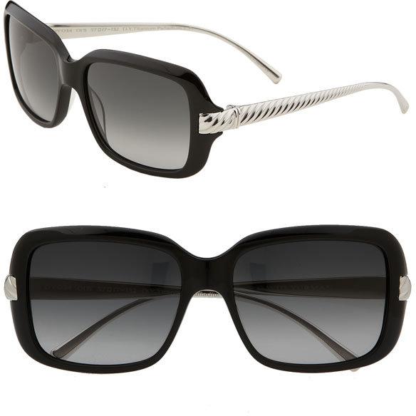 David Yurman 'Waverly' Square Sunglasses