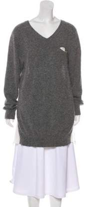 Sacai Luck Angora Oversize Sweater