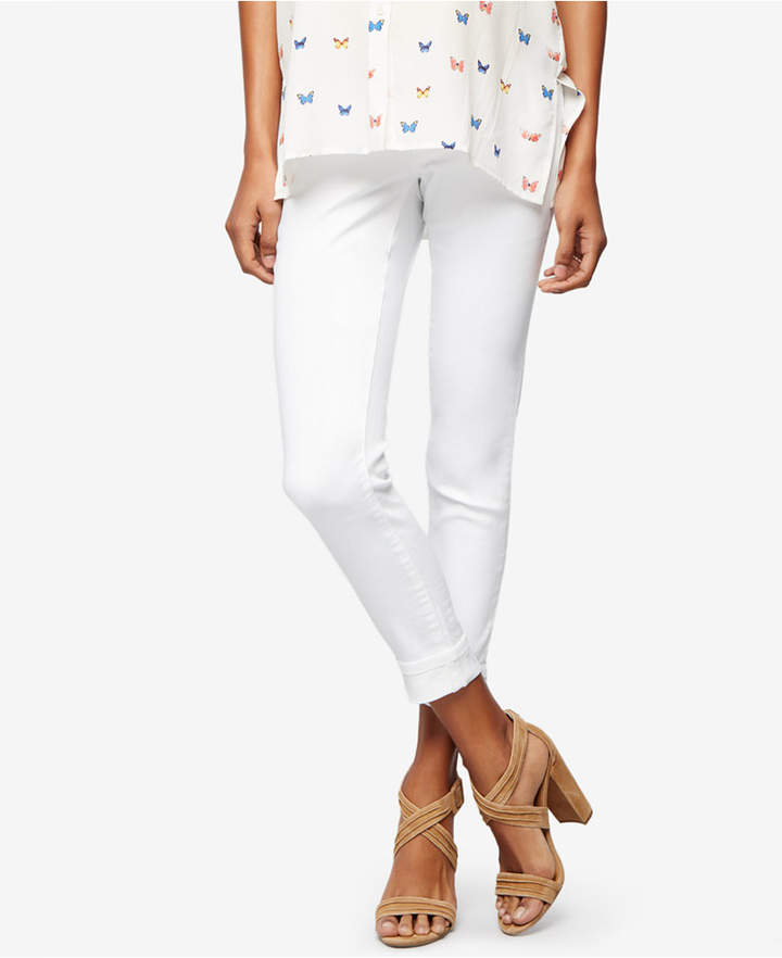 A Pea In The PodA Pea in the Pod Maternity White Wash Ankle Jeans