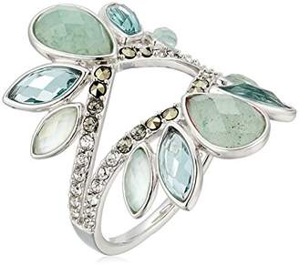 Judith Jack Sterling Silver and Cluster with Swarovski Marcasite Ring