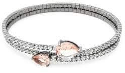 Saks Fifth Avenue Crystal Bangle Bracelet