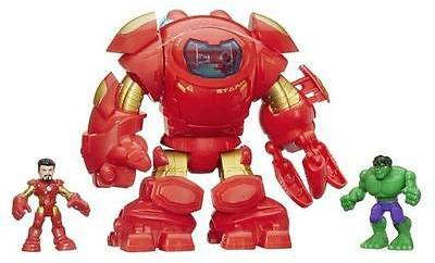 Playskool Heroes Marvel Super Hero Adventures Stark Tech Armor w/Tony Stark