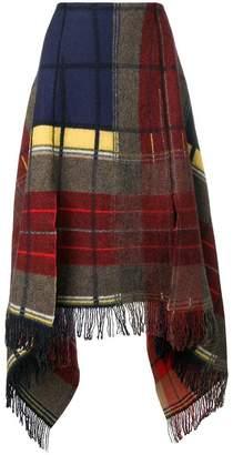 Sonia Rykiel asymmetric midi skirt
