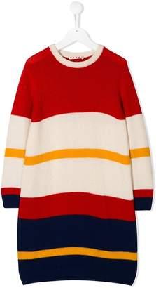 Marni striped sweater dress