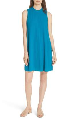 Eileen Fisher A-Line Silk Shift Dress