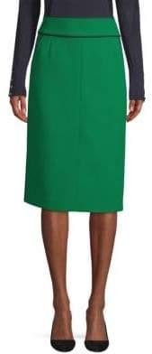 BOSS Bonded Pencil Skirt