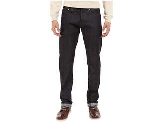 The Unbranded Brand Tapered in 11 OZ Indigo Stretch Selvedge