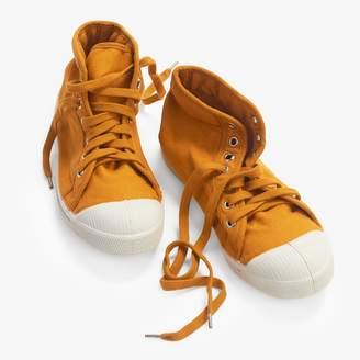 Bensimon Basic Mid Tennis Shoes Yellow