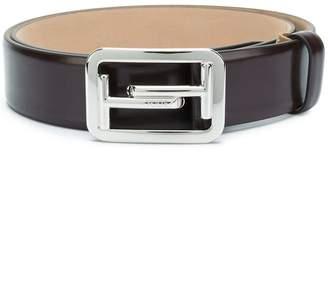 Tod's logo buckle belt