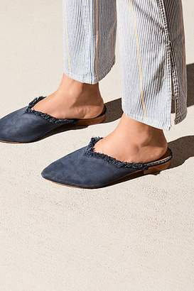 Leather Newport Flat