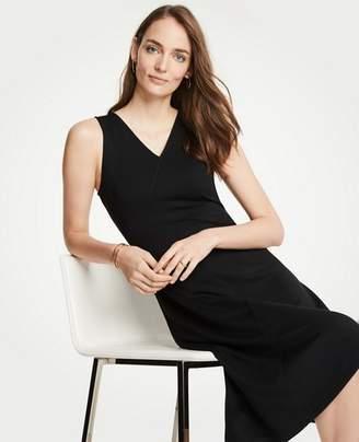 Ann Taylor Tall Seamed Midi Dress