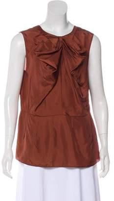 Marni Silk Sleeveless Top