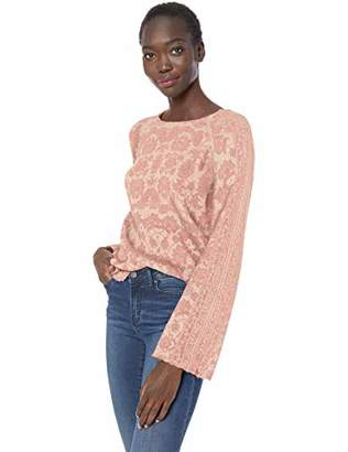 Lucky Brand Women's Damask Pullover Sweater