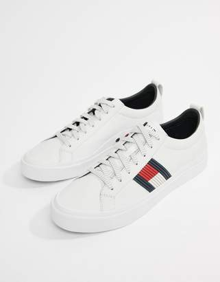 72ad139a Tommy Hilfiger White Trainers For Men - ShopStyle UK