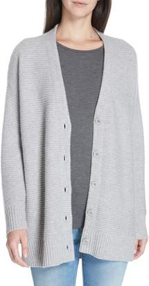 Eileen Fisher Cashmere Blend V-Neck Cardigan