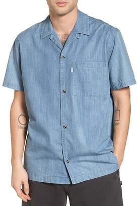 Wesc Nevin Short Sleeve Denim Shirt
