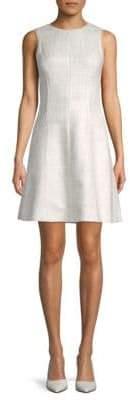 Oscar de la Renta Sleeveless A-Line Dress