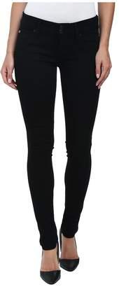 Hudson Collin Skinny Jeans in Black Women's Jeans