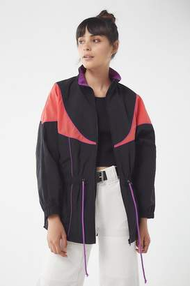 Urban Outfitters Nylon Colorblock Windbreaker Jacket