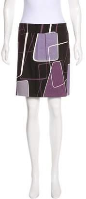 Max Mara Patterned Mini Skirt