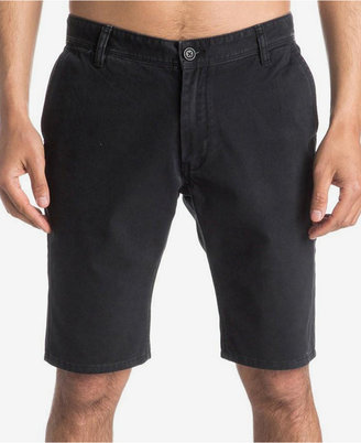 """Quiksilver Men's Everyday 21"""" Chino Shorts $39.50 thestylecure.com"""