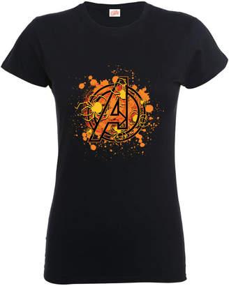Marvel Avengers Assemble Halloween Spider Logo Women's T-Shirt