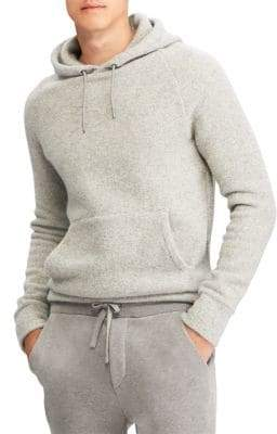 Ralph Lauren Purple Label Cashmere-Blend Hoodie Sweater
