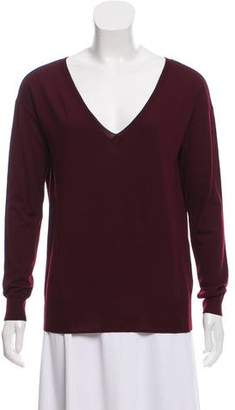 Ralph Lauren Purple Label Merino Wool V-Neck Sweater