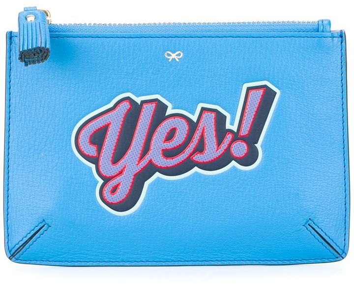 Anya Hindmarch Anya Hindmarch 'Yes' coin purse