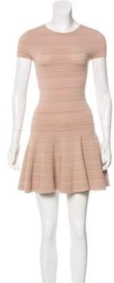 Torn By Ronny Kobo Textured Mini Dress