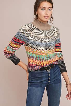 Maeve Prismatic Fair Isle Sweater