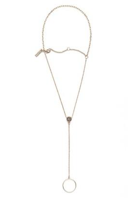 Women's Topshop Pave Charm Hand Chain $14 thestylecure.com