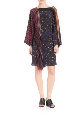3.1 Phillip Lim 3.1 Phillip Lim Silk Kimono Dress