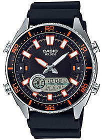 Casio Casio Men's Black Analog-Digital Watch