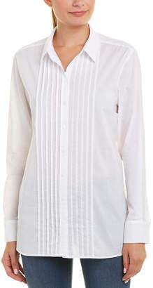NYDJ Tuxedo Tunic Shirt