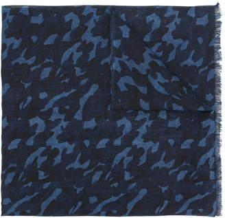 Altea camouflage print scarf