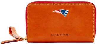 Dooney & Bourke NFL Patriots Zip Around Phone Wristlet