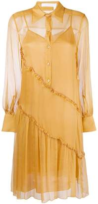 See by Chloe button shirt dress