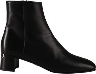 Prada Side Zipped Ankle Boots