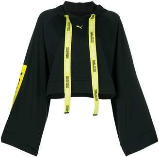 Puma Xtreme tape cropped hoodie