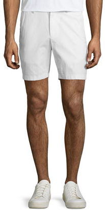 Michael Kors Slim-Fit Stretch Chino Shorts, Midnight $125 thestylecure.com
