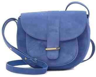 Neely & Chloe No. 27 Suede Saddle Bag