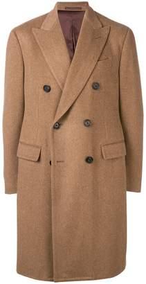 Lardini boxy double-breasted coat