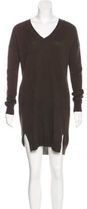 Vince Wool-Blend Sweater Dress