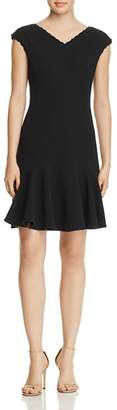 Rebecca Taylor Anna Scallop-Trimmed Dress - 100% Exclusive