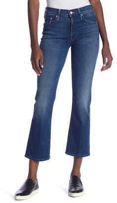 Mother The Outsider Crop Bootcut Jeans (Fast Times)